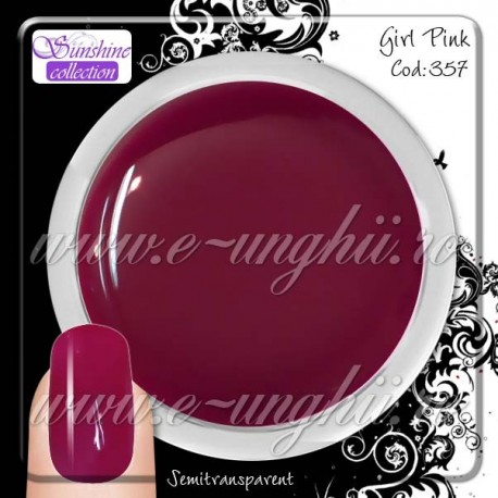 Gel Colorat Girl Pink - 357