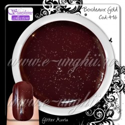 Gel Colorat Bordeaux Gold- 416