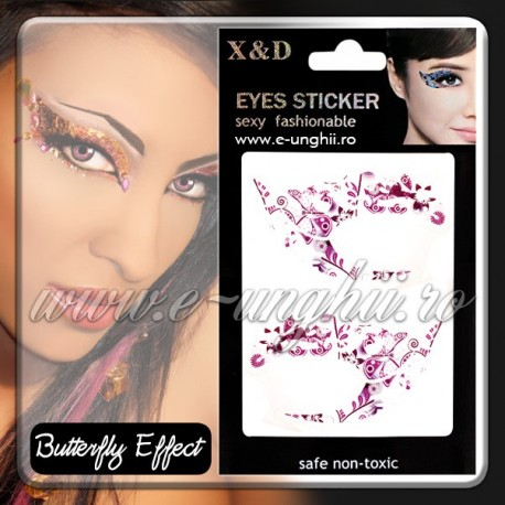 Decoratiuni ochi - Butterfly Effect (Eyes Sticker - Abtibild ochi)