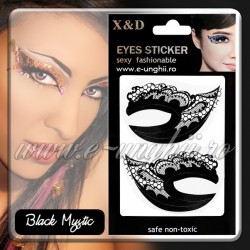Decoratiuni ochi - Black Mystic (Eyes Sticker - Abtibild ochi)