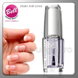 Tratament unghii - Fluo Top Coat Bell