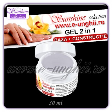 GEL 2 in 1 BAZA si CONSTRUCTIE