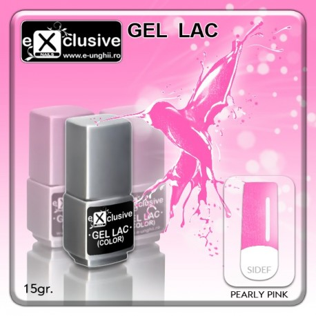 Gel LAC (Oja Semipermanenta) - Pearly Pink