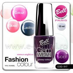 Lac unghii profesional Bell-517 (Lacuri unghii profesionale Glam Wear)