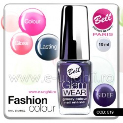 Lac unghii profesional Bell-519 (Lacuri unghii profesionale Glam Wear)