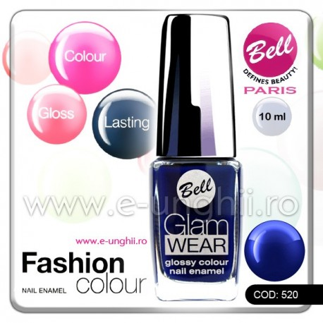 Lac unghii profesional Bell-520 (Lacuri unghii profesionale Glam Wear)