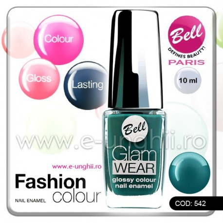 Lac unghii profesional Bell-542 (Lacuri unghii profesionale Glam Wear)