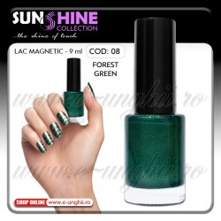 Oja magnetica - 08 Forest Green (Lacuri magnetice unghii)