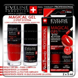 Lac cu Tratament + Top Coat Eveline Cosmetics - SET 01