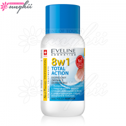 Acetona cu Vitamine 8 in 1, Producator Eveline Cosmetics, Gramaj 150ml