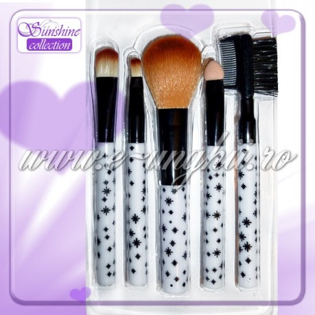 Pensule make up set 5 buc