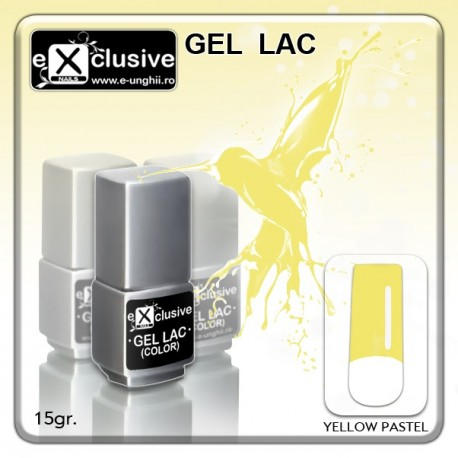 Gel LAC (Oja Semipermanenta)- Pastel Yellow