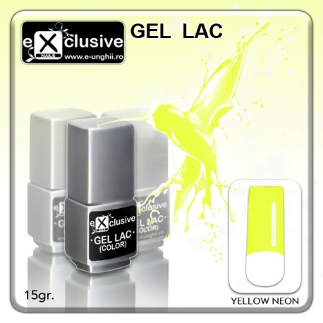 Gel LAC (Oja Semipermanenta)- Yellow Neon