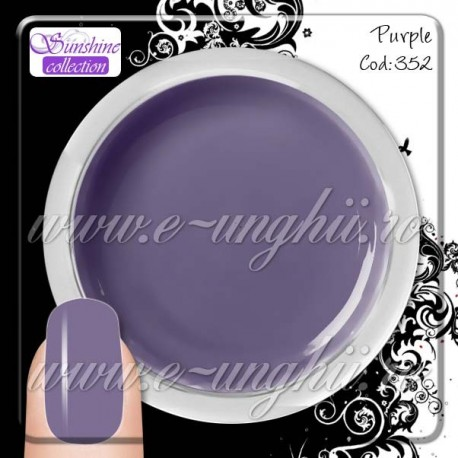 Gel Colorat  Purple - 352