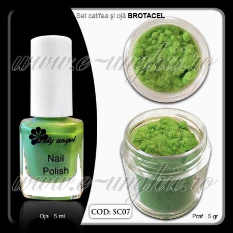 Set Catifea Brotacel - SC 07
