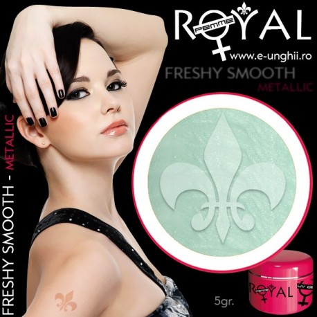 Gel colorat metalic ROYAL - Freshy Smooth (geluri unghii metalic Royal Femme)