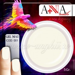 Gel mat ALB 112747 - Geluri Colorate Mate Anna nails