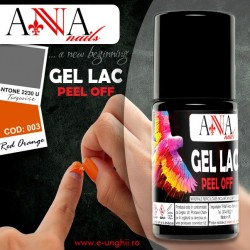 Gel Lac 003-Red Orange - Oja Semipermanenta sau Oja Permanenta