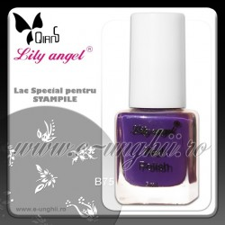 Lacuri Stampile Unghii - VIOLET - Lily Angel (Lac unghii stampila)