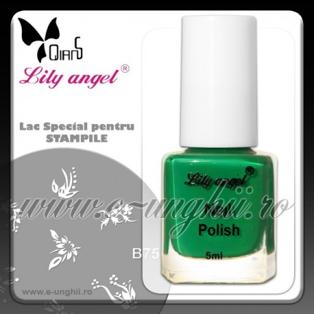 Lacuri Stampile Unghii - VERDE - Lily Angel (Lac unghii stampila)