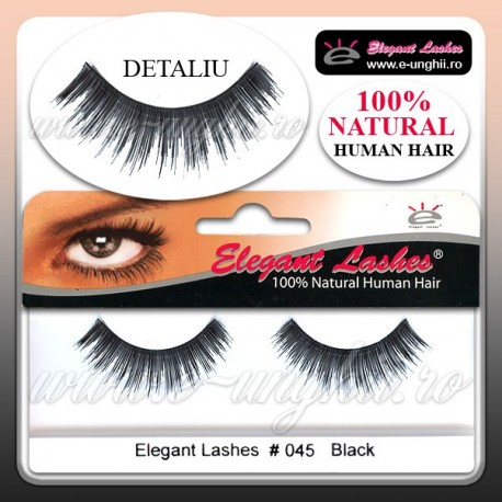 Gene false 100% par natural 045 - Gene false banda Elegant Lashes