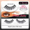 Gene false 100% par natural 048 - Gene false banda Elegant Lashes
