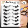 Gene false par natural F-28 - Gene false banda Fashion Lashes