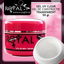 Gel UV - CLEAR Transparent 50gr. (Gel Clear Trifazic)