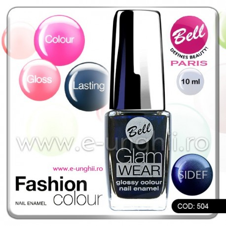 Lac unghii profesional Bell-504 (Lacuri unghii profesionale Glam Wear)