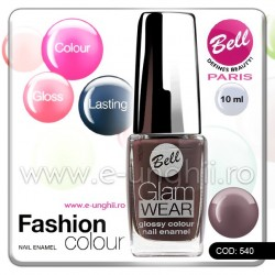Lac unghii profesional Bell-540 (Lacuri unghii profesionale Glam Wear)