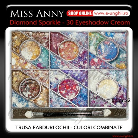 Trusa Machiaj - Farduri Combinate (Miss Anny Diamond Sparkle)