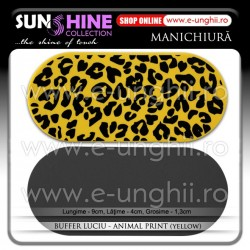 Buffer Luciu - ANIMAL PRINT YELLOW