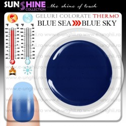 Gel Colorat Termocrom BS-BS - Blue Sea to Blue Sky (Geluri colorate thermo - Geluri colorate termo - Geluri colorate termocrom )