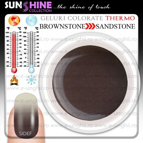 Gel Colorat Termocrom B-S - Brownstone to Sandstone SIDEF ( Geluri colorate termo)