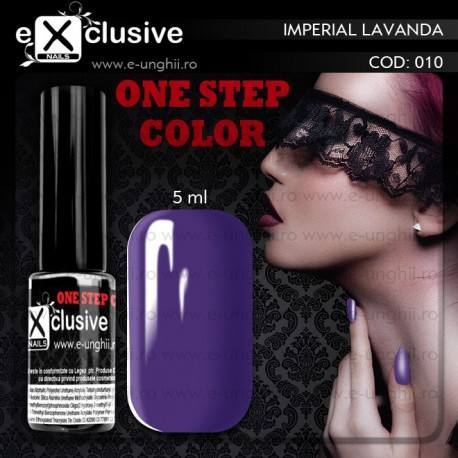 Gel Lac EXCLUSIVE ONE STEP 010 - Oja Semipermanenta 3 in 1