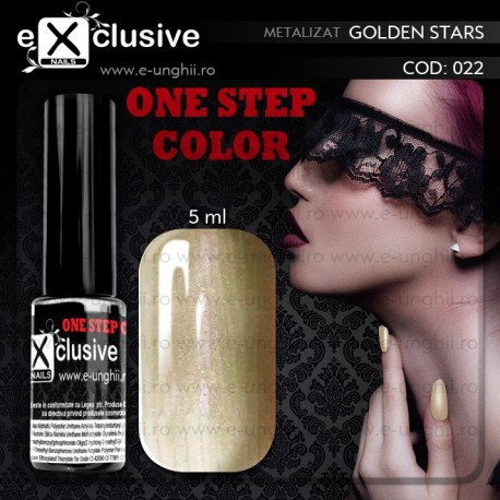 Gel Lac EXCLUSIVE ONE STEP 022 - Oja Semipermanenta 3 in 1