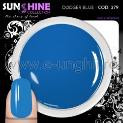 Geluri Unghii Colorate - 379 Sunshine Collection (Gel Colorat Dodger Blue)