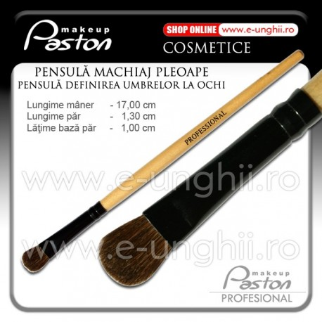 Pensula Machiaj Pleoape Paston Professional - Pensula Blush (Pensule Cosmetica Make-Up)