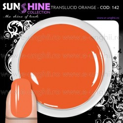 Geluri Unghii Colorate - 142 Sunshine Collection (Gel Colorat Red Rost)