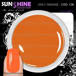 Geluri Unghii Colorate - 128 Sunshine Collection (Gel Colorat Red Rost)