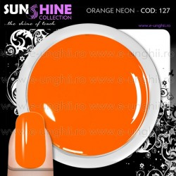 Geluri Unghii Colorate - 127 Sunshine Collection (Gel Colorat Orange Neon)