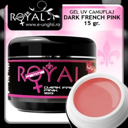 Gel UV DARK FRENCH PINK 15 gr. (Gel UV Camuflaj Royal Femme)