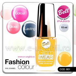 Lac unghii profesional Bell-801 (Lacuri unghii profesionale Glam Wear)