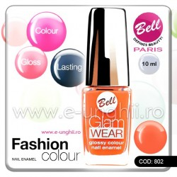 Lac unghii profesional Bell-802 (Lacuri unghii profesionale Glam Wear)