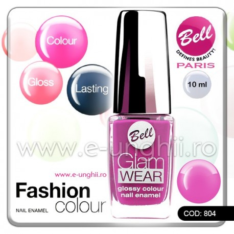 Lac unghii profesional Bell-804 (Lacuri unghii profesionale Glam Wear)