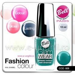 Lac unghii profesional Bell-806 (Lacuri unghii profesionale Glam Wear)