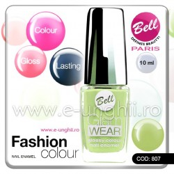 Lac unghii profesional Bell-807 (Lacuri unghii profesionale Glam Wear)
