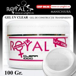 Gel UV - CLEAR Transparent 100gr. (Gel Clear Trifazic)