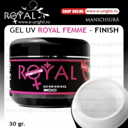 Gel UV Finish - Royal Femme - 30 Gr. (Gel Luciu si Sigilare)