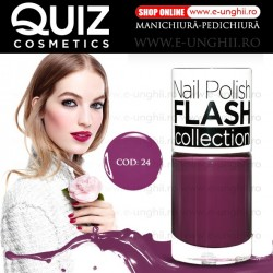 Lacuri Unghii 24 FLASH Collection - QUIZ Cosmetics